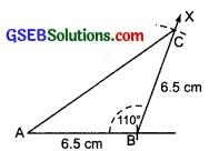GSEB Solutions Class 7 Maths Chapter 10 Practical Geometry Ex 10.3 2