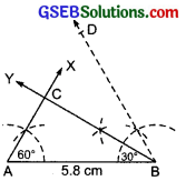 GSEB Solutions Class 7 Maths Chapter 10 Practical Geometry Ex 10.4 1