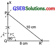 GSEB Solutions Class 7 Maths Chapter 10 Practical Geometry Ex 10.5 1