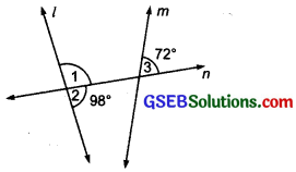 GSEB Solutions Class 7 Maths Chapter 5 Lines and Angles Ex 5.2 11