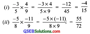 GSEB Solutions Class 7 Maths Chapter 9 Rational Numbers InText Questions 8