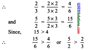 GSEB Solutions Class 7 Maths Chapter 9 Rational Numbers Ex 9.1 19