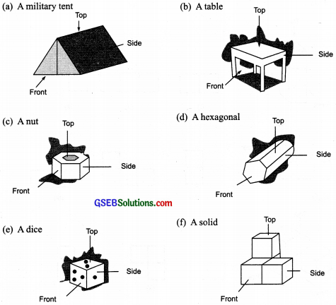 GSEB Solutions Class 8 Maths Chapter 10 Visualizing Solid Shapes Ex 10.1 img 6