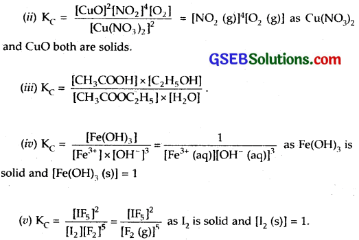 GSEB Solutions Class 11 Chemistry Chapter 7 Equilibrium 4