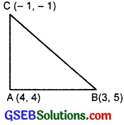 GSEB Solutions Class 11 Maths Chapter 10 Straight Lines 10.1 img 7