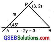GSEB Solutions Class 11 Maths Chapter 10 Straight Lines Miscellaneous Exercise img 8