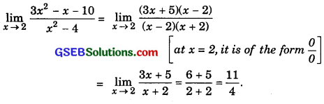 GSEB Solutions Class 11 Maths Chapter 13 Limits and Derivatives Ex 13.1 img 3