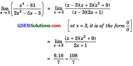 GSEB Solutions Class 11 Maths Chapter 13 Limits and Derivatives Ex 13.1 img 4