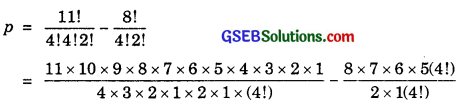 GSEB Solutions Class 11 Maths Chapter 7 Permutations and Combinations Ex 7.3 img 5