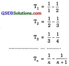 GSEB Solutions Class 11 Maths Chapter 9 Sequences and Series Ex 9.4 img 5