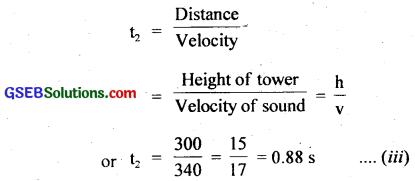 GSEB Solutions Class 11 Physics Chapter 15 Waves img 3