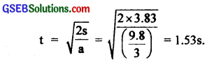 GSEB Solutions Class 11 Physics Chapter 7 System of Particles and Rotational Motion img 35