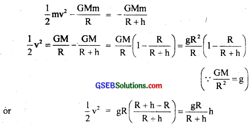 GSEB Solutions Class 11 Physics Chapter 8 Gravitation img 11