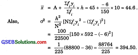 GSEB Solutions Class 11 Maths Chapter 15 Statistics Ex 15.3 img 3