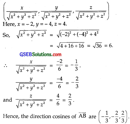 GSEB Solutions Class 12 Maths Chapter 10 Vector Algebra Ex 10.2 img 7