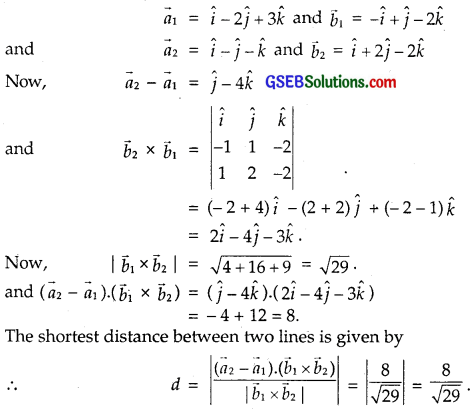 GSEB Solutions Class 12 Maths Chapter 11 Three Dimensional Geometry Ex 11.2 img 13