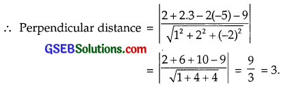 GSEB Solutions Class 12 Maths Chapter 11 Three Dimensional Geometry Ex 11.3 img 15