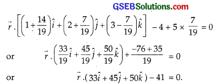 GSEB Solutions Class 12 Maths Chapter 11 Three Dimensional Geometry Miscellaneous Exercise img 15