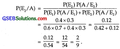 GSEB Solutions Class 12 Maths Chapter 13 Probability Ex 13.3 img 8