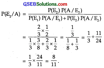 GSEB Solutions Class 12 Maths Chapter 13 Probability Ex 13.3 img 9