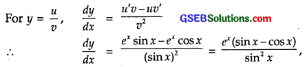 GSEB Solutions Class 12 Maths Chapter 5 Continuity and Differentiability Ex 5.4 1