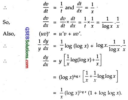 GSEB Solutions Class 12 Maths Chapter 5 Continuity and Differentiability Miscellaneous Exercise 6