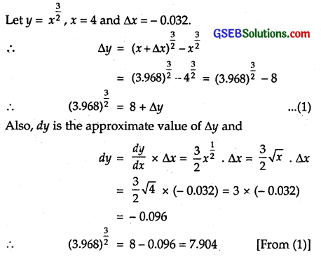 GSEB Solutions Class 12 Maths Chapter 6 Application of Derivatives Ex 6.4 14