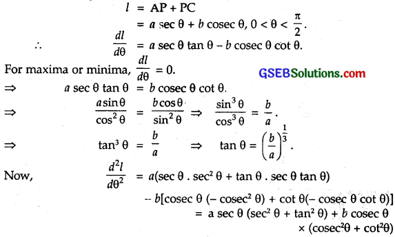 GSEB Solutions Class 12 Maths Chapter 6 Application of Derivatives Miscellaneous Exercise 15