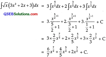 GSEB Solutions Class 12 Maths Chapter 7 Integrals Ex 7.1 img 10