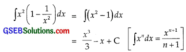 GSEB Solutions Class 12 Maths Chapter 7 Integrals Ex 7.1 img 2