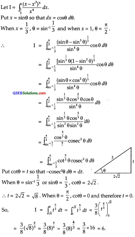 GSEB Solutions Class 12 Maths Chapter 7 Integrals Ex 7.10 img 10