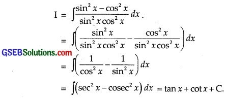 GSEB Solutions Class 12 Maths Chapter 7 Integrals Ex 7.3 img 23