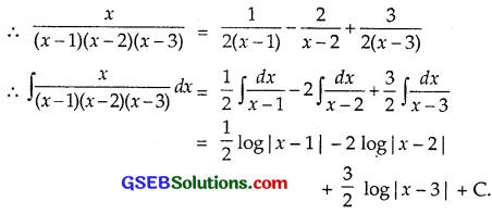 GSEB Solutions Class 12 Maths Chapter 7 Integrals Ex 7.5 img 4