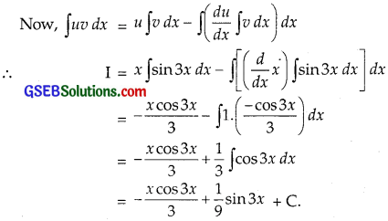 GSEB Solutions Class 12 Maths Chapter 7 Integrals Ex 7.6 img 1