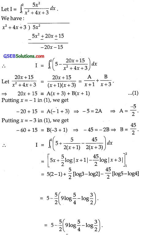 GSEB Solutions Class 12 Maths Chapter 7 Integrals Ex 7.9 img 16