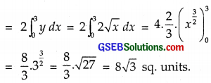 GSEB Solutions Class 12 Maths Chapter 8 Application of Integrals Ex 8.1 img 18
