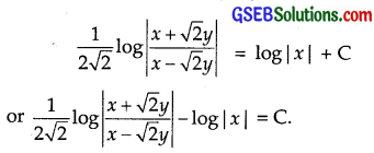 GSEB Solutions Class 12 Maths Chapter 9 Differential Equations Ex 9.5 img 20