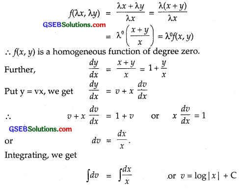 GSEB Solutions Class 12 Maths Chapter 9 Differential Equations Ex 9.5 img 6