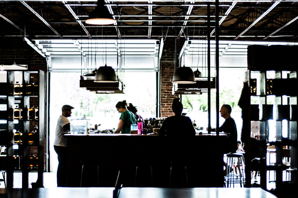 Industrial Style Northern Beaches Cafe