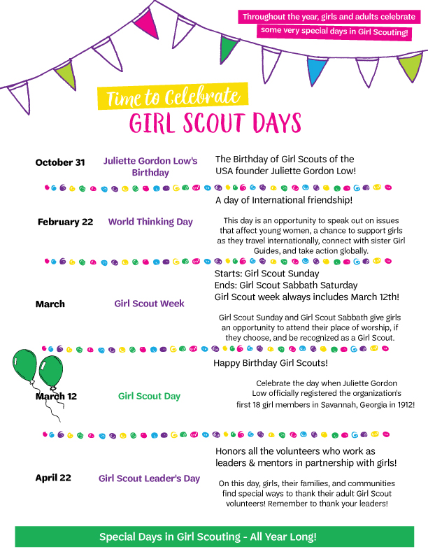 Girl Scout Friendship Song : scout, friendship, Activities