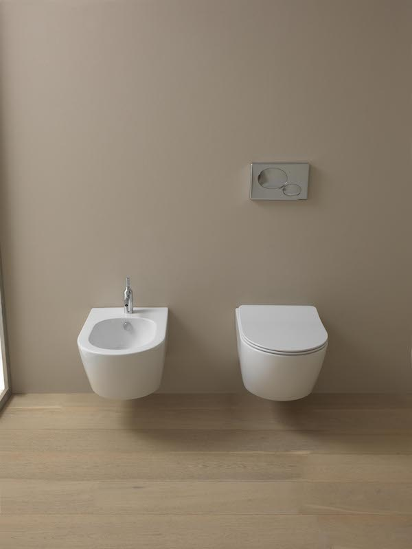 Like Wall Hung Bidet & WC with sandwich seat 2 copy