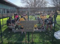"""Farm Fresh. The Good Shepherd """"Lil' Acres"""" garden was a result of the 2016 Gala's fund-a-need project."""