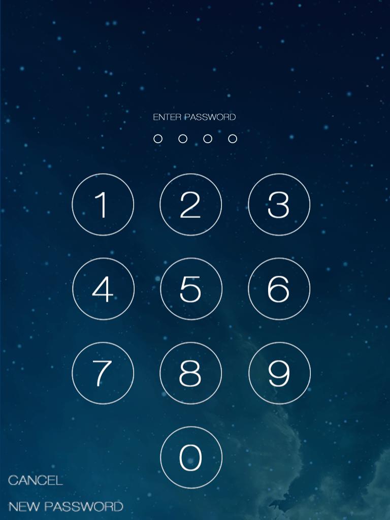 iOS 7 Lock Screen Demo | GSHelper.com