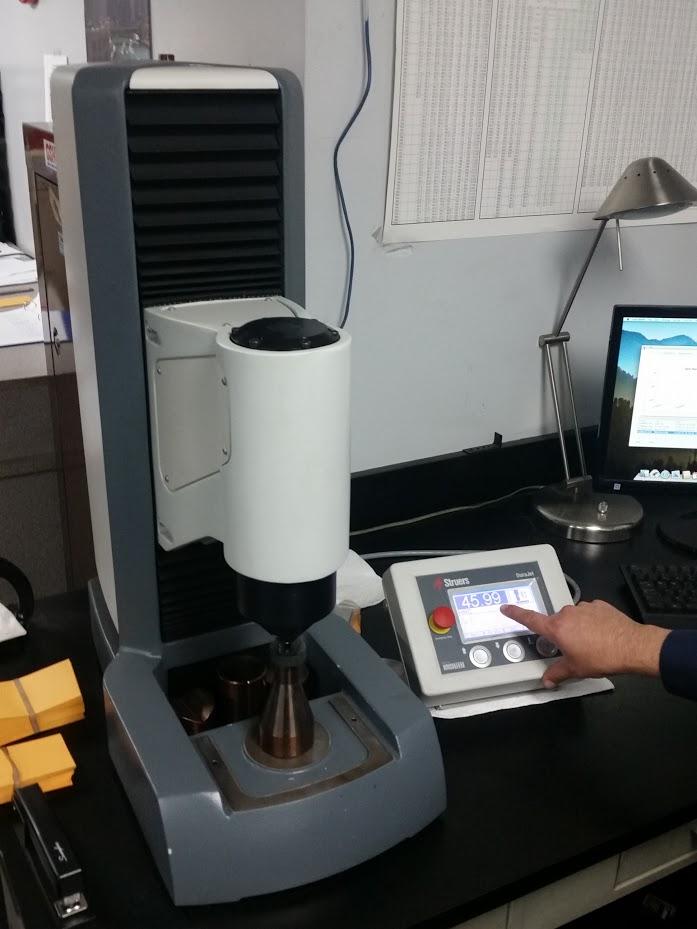 Struers DuraScan Hardness Tester