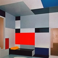 Mondrian inspired Interior design