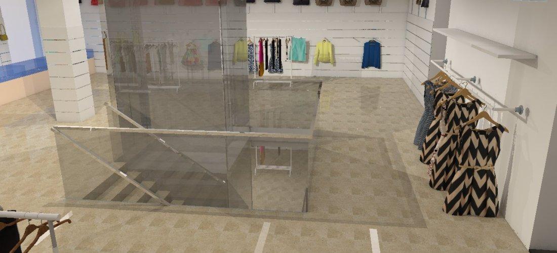 3D Shop Design