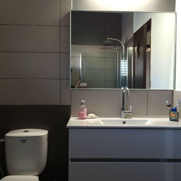 The Bathroom for boys. Mondrian inspiration