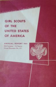 The 1951 GSUSA Annual Report