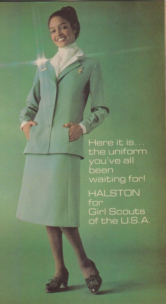 Halston design, Girl Scout History Project
