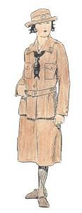 1919 Girl Scout uniform